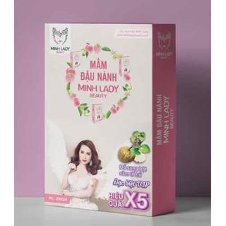 Hot Mầm Đậu Nành Sâm tố nữ công thức cải tiến X5 Tăng Vòng 1 Minh Lady Beauty Mua 3 tặng 1 nạ mắt - 0046 thumbnail