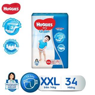 Tã dán Huggies Diapers Jumbo XXL34 - 8935107201031 thumbnail