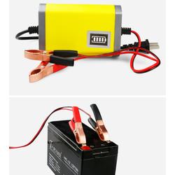 củ sạc 12V tự động có mạch bảo vệ và đèn báo