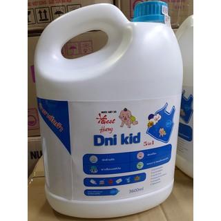 Nước Giặt Xả Quần Áo Trẻ Em Dni-Kid 3600ml - Không gây kích ứng da - Mùi thơm êm dịu nhẹ nhàng - NGXTE4556 thumbnail