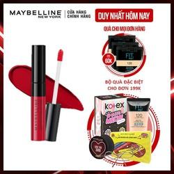 [FREESHIP]Son Kem Lì Nhẹ Môi Maybelline New York Sensational Liquid Matte Lipstick 7ml