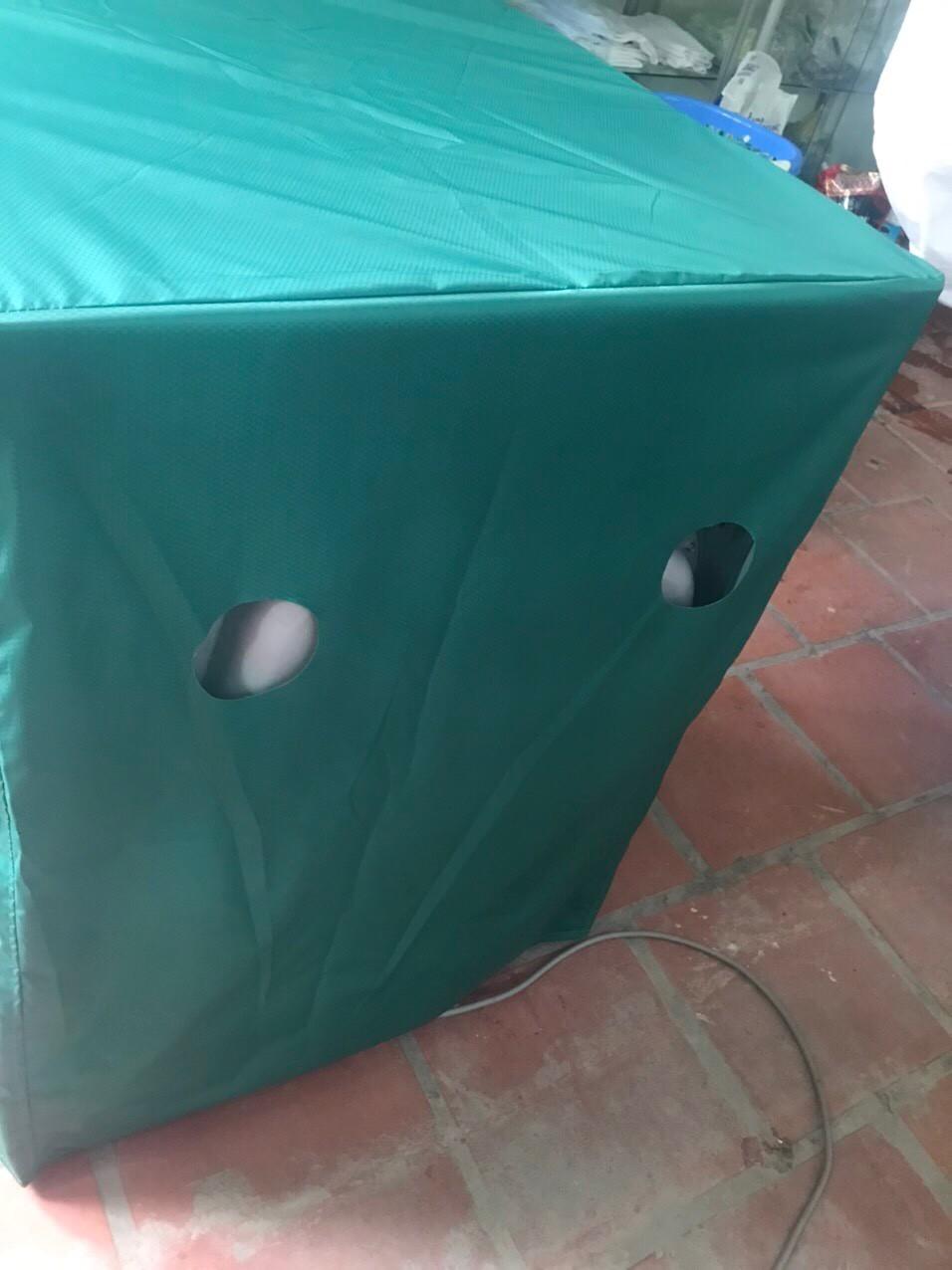 Vỏ bọc, áo trùm máy giặt cửa ngang ( Vải Dù Siêu Bền ) - PN511