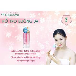 Nước Hoa Hồng Dạng Sữa Dưỡng Trắng Da Cấp Ẩm Giàu Dưỡng Chất Placenta White Label Premium Placenta Essence Chai 180ml Từ Nhật Bản - Nước Hoa Hồng thumbnail