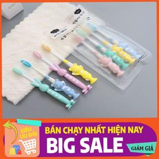 Set 4 Bàn Chải Đánh răng Cho Bé - BÀN CHẢI ĐÁNH RĂNG - S4BCTGTE-1 thumbnail