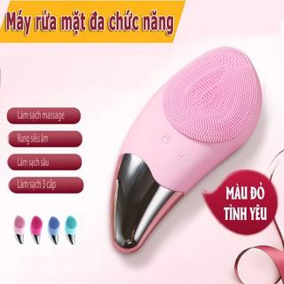 Máy Rửa Mặt Máy massage SONIC CLEANSER rửa mặt cầm tay Silicon - VN05748412598 thumbnail