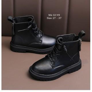 Giày bốt cổ cao cho bé trai bé gái 3 - 12 tuổi phong cách Hàn Quốc GC49 [ĐƯỢC KIỂM HÀNG] 37206469 - 37206469 thumbnail