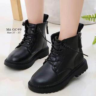 Giày bốt cổ cao cho bé trai bé gái 3 - 12 tuổi phong cách Hàn Quốc GC49 - GC49 thumbnail