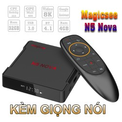 ANDROID TV BOX N5 NOVA MAGICSEE CHIP S905x3 GIÁ HOT