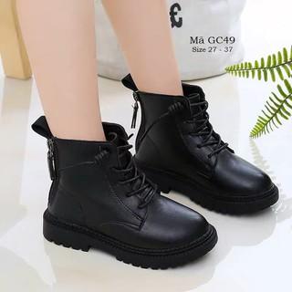 Giày bốt cổ cao cho bé trai bé gái 3 - 12 tuổi phong cách Hàn Quốc GC49 [ĐƯỢC KIỂM HÀNG] - 37206469 thumbnail