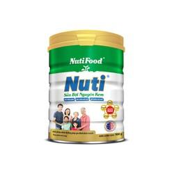 Sữa Bột Nguyên Kem Nutifood lon 900g - Giàu năng lượng, Tăng cường miễn dịch, Giúp xương chắc khoẻ