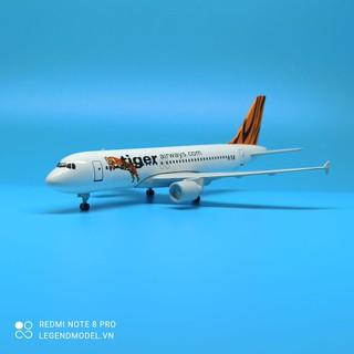 Mô hình máy bay Tiger Airways - TGA thumbnail