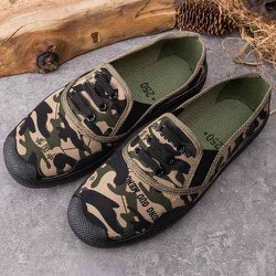Giày Lười Nam Nữ Rằn Ri Phong Cách Lính Giá Tốt
