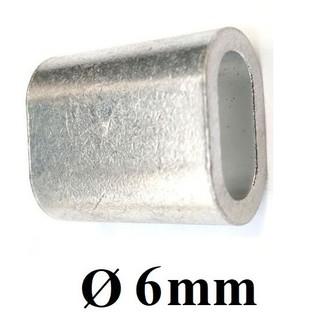 Cốt đầu nhôm khóa cáp [ 6mm ] - cotnhom6 thumbnail