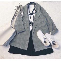 Áo khoác vest, blazer nữ - VNXK