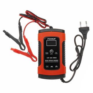 Bộ sạc điện acquy FOXSUR 12V kèm phục hồi bình,Sạc acquy 12V cho bình acquy xe máy , xe đạp điện , ô tô - foxsur thumbnail