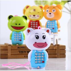 [CÓ VIDEO] Điện thoại đồ chơi cho bé hình thú ngộ nghĩnh, các phím bấm phát nhạc giúp bé vui chơi