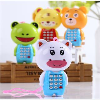[CÓ VIDEO] Điện thoại đồ chơi cho bé hình thú ngộ nghĩnh, các phím bấm phát nhạc giúp bé vui chơi - DIENTHOAITHU thumbnail
