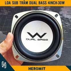 Loa sub siêu trầm Dual Bass 30W 8R 4inch