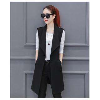Áo vest ghile nữ dáng dài cao cấp - KH85 thumbnail