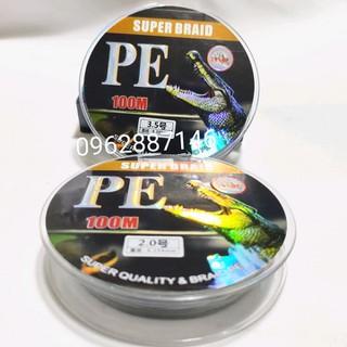 dây dù câu cá pe x4 nano tải cá 71kg siêu khỏe - dây dù câu cá pe x4 nano tải cá 71kg siêu khỏ thumbnail