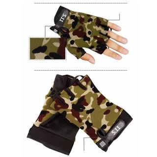 Găng tay ngón cụt 511 Màu lính - treem17 thumbnail