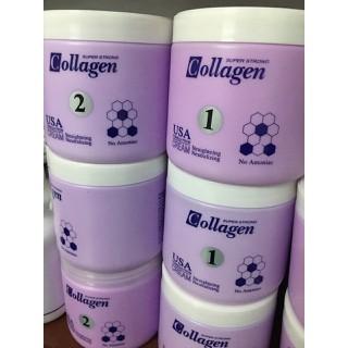 Cặp Thuốc duỗi tóc collagen 1000ml - Thuốc duỗi tóc thumbnail