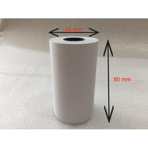 Giấy in hóa đơn - giấy in nhiệt - giấy in bill - k80 phi 45