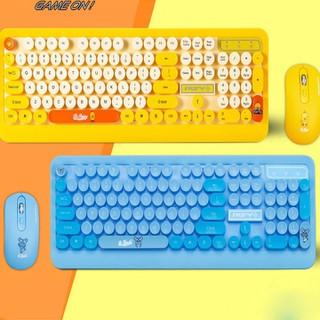 chuột và bàn phím không dây - combo bàn phím chuột không dây 1003 thumbnail