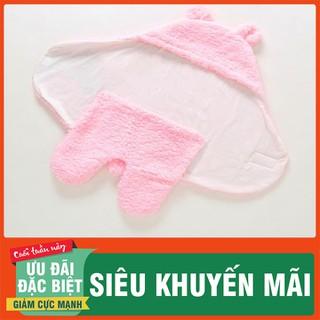 Áo lông ủ ấm cho trẻ sơ sinh