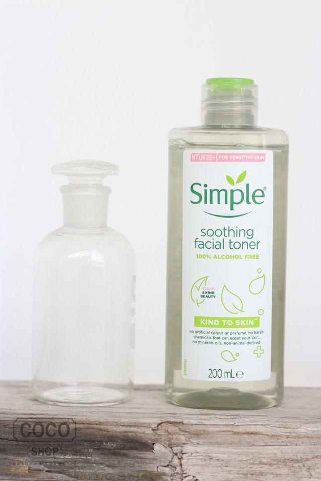 Nước Hoa Hồng Simple Kind to Skin Soothing Facial Toner - NƯỚC TONER SIMPLE 3