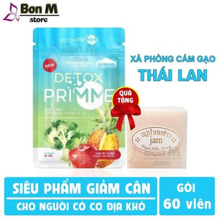 Detox Primme - Viên uống Detox khử mỡ giảm cân thải độc số 1 Thái Lan - Detox Primme Thái Lan thumbnail