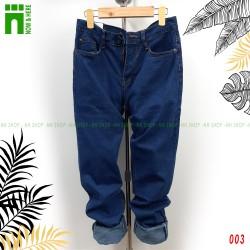 Quần jean nam size từ 45kg đến BIG SIZE 80kg, quần bò ống suông có 3 màu jean - NH Shop
