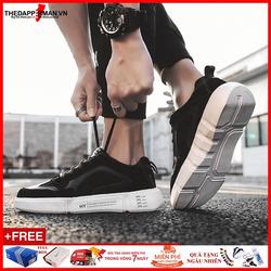 Giày Sneaker Nam Black Core