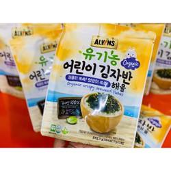 Rong Biển Rắc Cơm Hữu Cơ Alvins Hàn Quốc Vị Hải sản