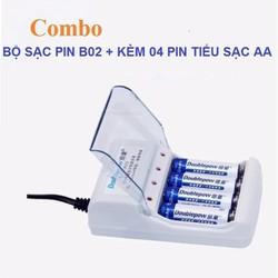 Bộ Sạc Pin  Doublepow Dp B02 Dùng Cho Micro  Đài Fm  Đồ Chơi  Chuột Không Dây  Đồng Hồ  Máy Ảnh Điều Khiểnnn