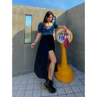 Chân váy big size (Hàng Order) chân váy cho người mập - CV015 thumbnail