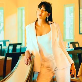 Áo Khoác Blazer Áo Vest Nữ Thời trang thiết kế Hity TOP111 Xếp Ly (Trắng Kim Cương) - TOP111-TRẮNG KIM CƯƠNG thumbnail