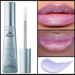 Son bóng Ngọc trai too faced melted latex lquified high shine lipstick unicorn limited edition unbox xách tay Mỹ