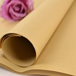 Lô 10 tờ Giấy kraft dùng gói hoa gói quà kích thước 72 x 102 cm - Giaykraft thumbnail