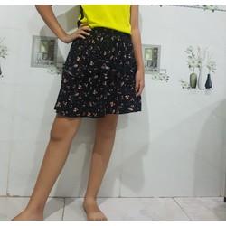 chân váy xếp tầng
