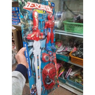 Vỉ siêu nhân mặt nạ người nhện bằng nhựa [ĐƯỢC KIỂM HÀNG] - SHOPBAN724VN thumbnail