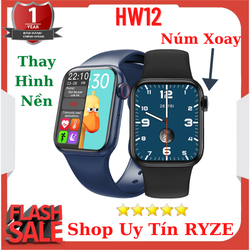Đồng hồ thông minh HW12 Nghe Gọi Thay Được Hình Nền Tiếng Việt 100%