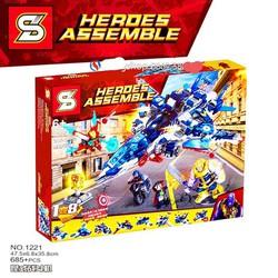 Lego SY Heroes Assemble IRron Man.1221 / 685 Chi Tiết. Lego Đồ Chơi Thông Minh Cho Bé