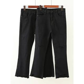 Quần jean nữ big size .quần jean cho người mập - QJ019 thumbnail
