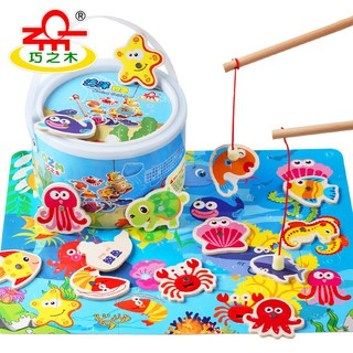 Đồ chơi gỗ - Đồ Chơi gỗ, Bộ đồ chơi câu cá bằng gỗ cho trẻ - DC07 thumbnail