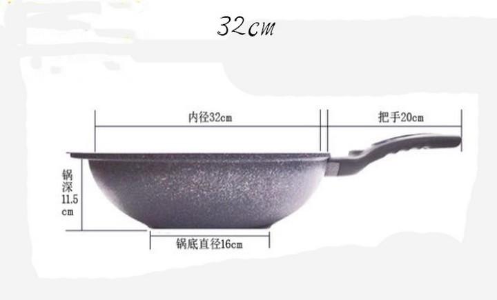 Chảo đá chống dính HÀN QUỐC 32cm - Chảo đá chống dính HÀN QUỐC 32cm 5