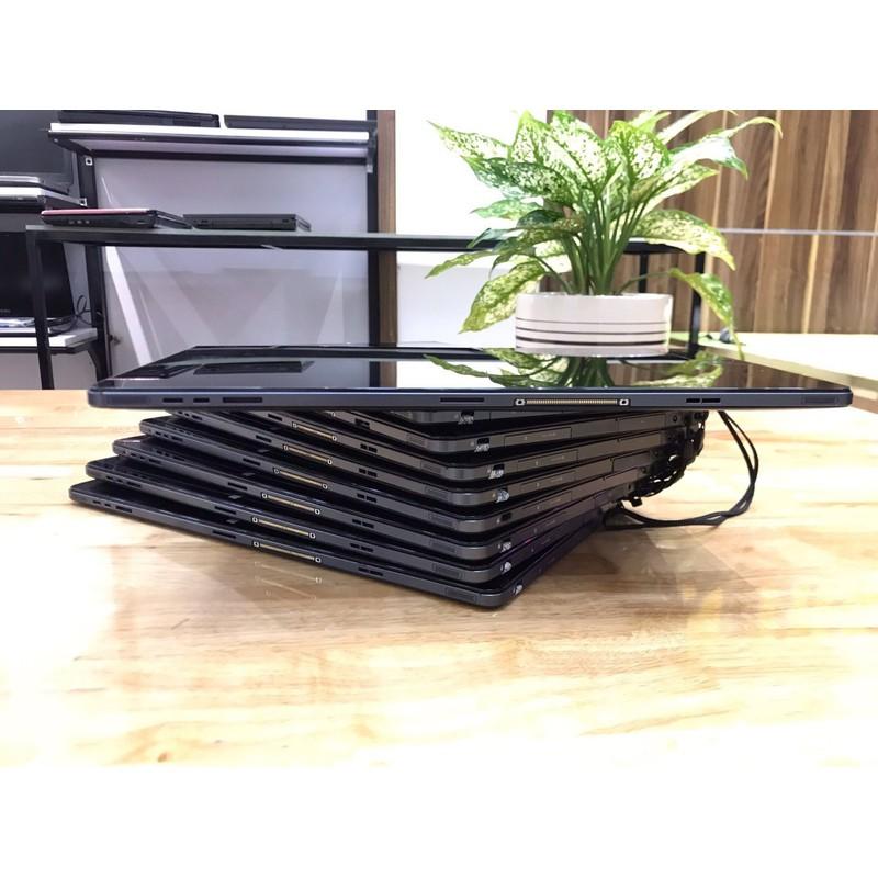Máy tính xách tay FUJITSU ARROWS Tab Q704 máy tính 2 in 1 Nhật Q704 gồm bàn phím blutooth, dock, sạc, bao da, bút. – FUJITSU ARROWS