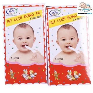 Tưa lưỡi Đông Fa 3 con nai cho bé (combo 10 hộp) - Tưa lưỡi Đông Fa 3 con nai cho bé thumbnail