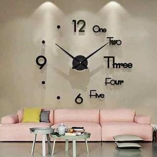 Đồng hồ trang trí dán tường 3D - Đồng hồ phong cách Châu Âu - DS Đồng hồ dán tường thumbnail