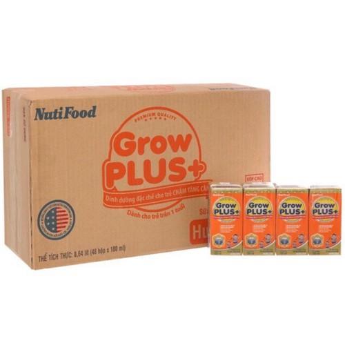 Sữa Grow plus cam 110ml Nutifood